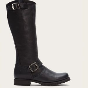 New Frye Veronica Slouch Tall Black Boots 9.5